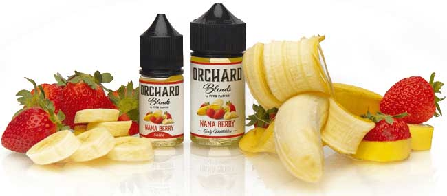 Nana Berry Ingredients Orchard Blends